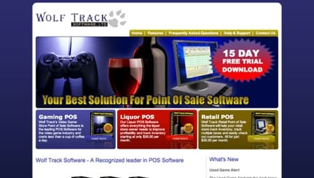 Wolf Track Software